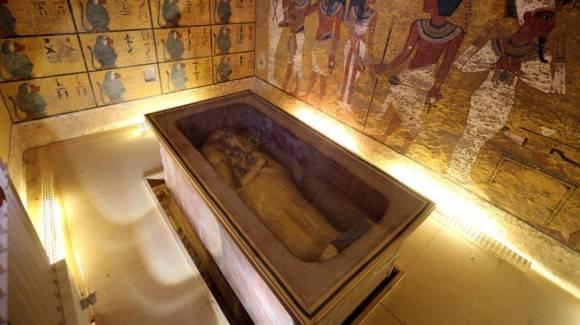 La tumba de Tutankamón en el Valle de los Reyes. Foto: Reuters