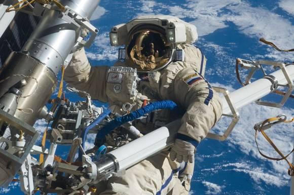 Cosmonauta ruso Anton Shkaplerov. Foto: NASA.
