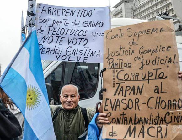 La izquierda sigue viva en Argentina. Foto: Kaloian/ Cubadebate.