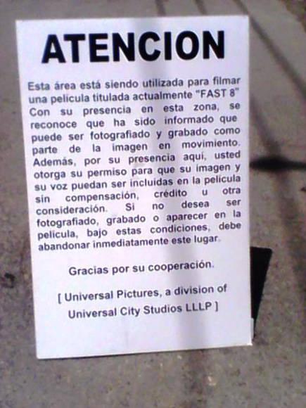 Este cartel aparece en varias calles de la capital cubana. Foto: Francisco Rodríguez/ Facebook.