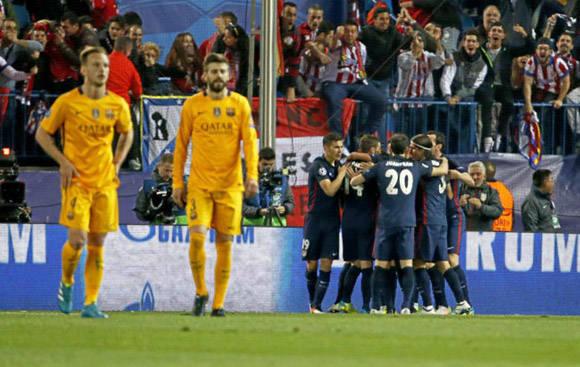 El FC Barcelona llevaba siete juegos consecutivos venciendo al Atlético, pero perdió el más importante. Foto tomada de Marca.
