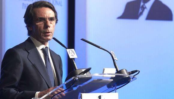 El expresidente del gobierno español, José María Aznar. Foto: Archivo.