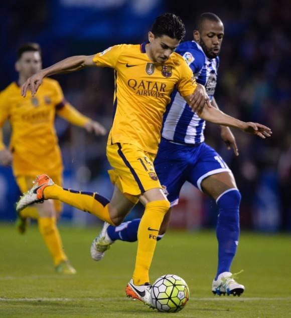 Bartra hizo el gol 7. Foto :AFP