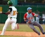 Beisbol-Final-Serie-55-CA vs PR 3ser play gana ciego 6 x 5 jugada en 2da base Yorvis Borroto
