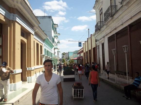 Boulevard de Santa Clara. Foto: Dr. Juan Antono Hernández Caraballo, medico del Sectorial Municipal de Salud / Cubadebate