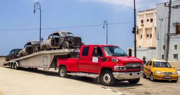 Carros rápido y furioso en Cuba. Foto David Gonzalez1