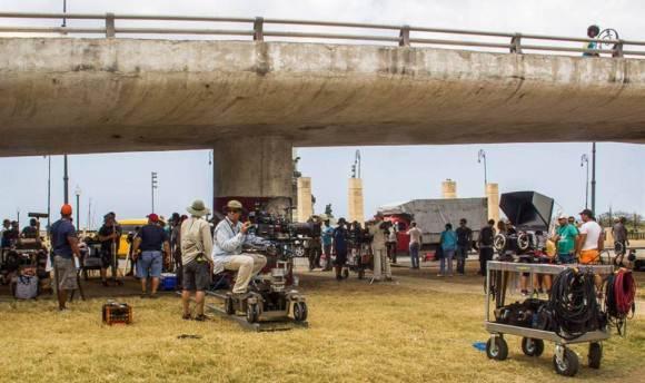 Equipo de producción. Foto: David González.