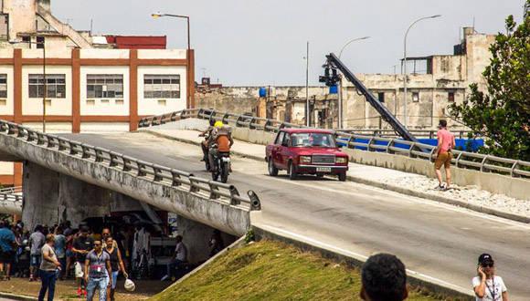 """""""Rápido y Furioso"""" tendrá escenas en los municipios de Plaza de la Revolución, Centro Habana y Haban Vieja. Foto: David González."""