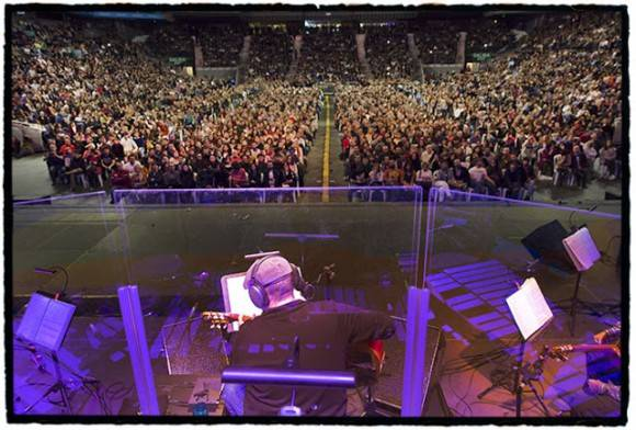 Concierto en Madrid de Silvio Rodríguez. Foto: Daniel Mordzinski/Segunda Cita