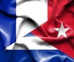 banderas francia cuba