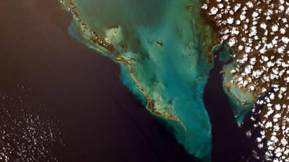 Cuba fue el primer destino fotografiado por la misión 52 del programa educacional Sally Ride EarthKAM, que comenzó el martes y termina el sábado. Foto: Sally Ride EarthKAM.