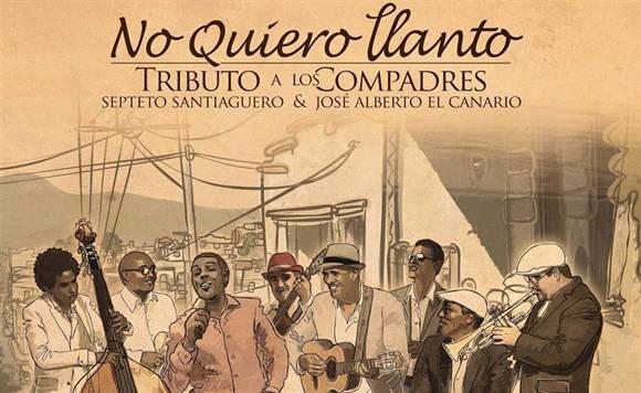 Disco No quiero llanto del Septeto Santiaguero
