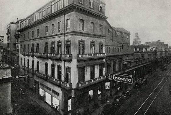 El Encanto era una de las mejores tiendas de La Habana. Foto: Archivo.