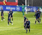 El Real Madrid comenzó encajando dos goles tempraneros. Foto José García/  Marca.
