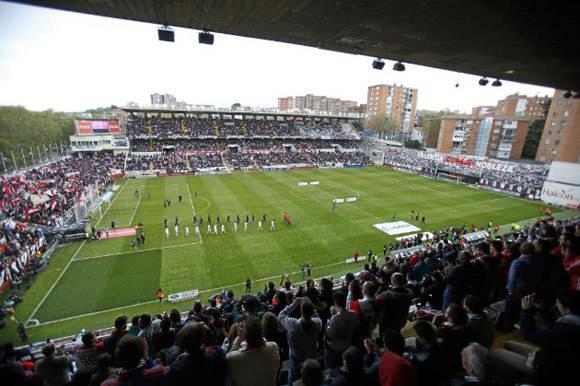 El estadio del barrio de Vallecas fue el escenario de la gran remontada merengue. Foto: José García/ Marca.
