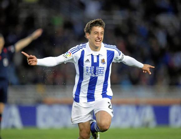 El goleador del partido Foto: Josune Martínez/ Marca.