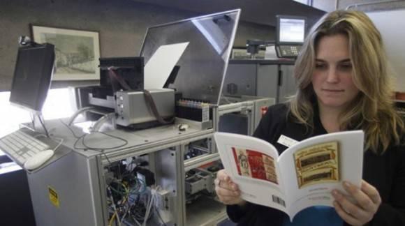 Espresso Book Machine. Foto tomada de Diario Uno.