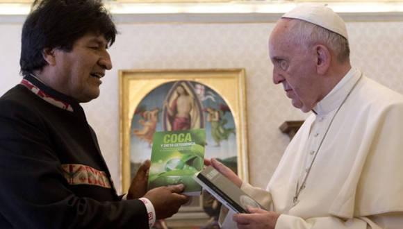 El Papa y Evo Morales analizan contexto actual latinoamericano