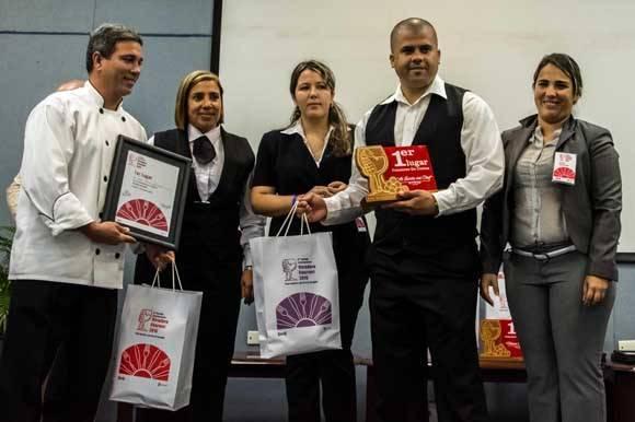 Premiados en el VIII Festival Internacional Varadero Gourmet 2016. Premiados en el 8vo. Foto: Abel Padrón Padilla/ ACN.