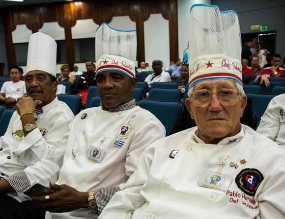 Chefs de varios países participaron en el evento. Foto: Abel Padrón Padilla/ ACN.
