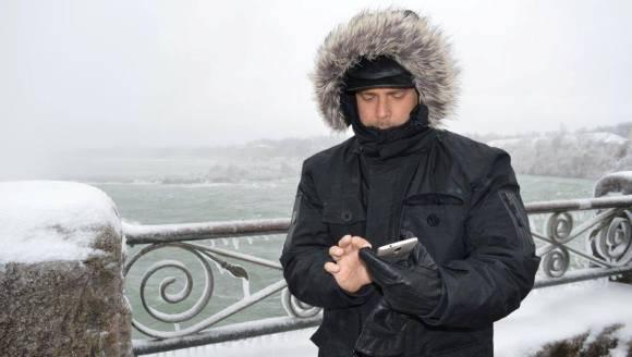 Gerardo llama desde el Niágara congelado 580
