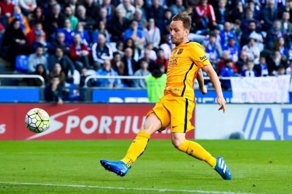 Ivan Rakitic marcó el tercer gol del Barcelona. Foto: Getty Images