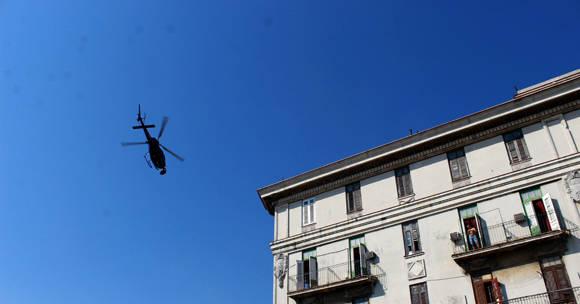 """La areonave que participa en la filmación de """"Rápido y Furioso 8"""" capta imágenes aéreas de La Habana. Foto: José Raúl Concepción/ Cubadebate."""