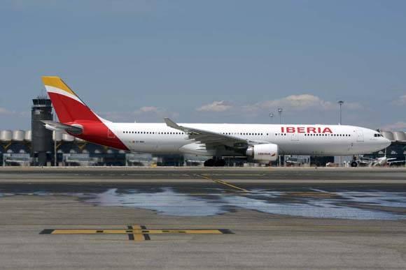 Iberia nombra su airbus como La Habana