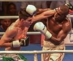 En los 81 Kg, Julio César La Cruz derrotó a Rogelio Romero.  Foto: Marcelino Vázquez Hernández/ ACN.