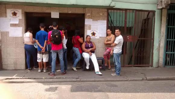 Local adaptado para jornadas de salud en el Consejo Comunal El poder de la comunidad, Sector La Cruz, Parroquia Sucre, Caracas. Foto: Cortesía del autor.