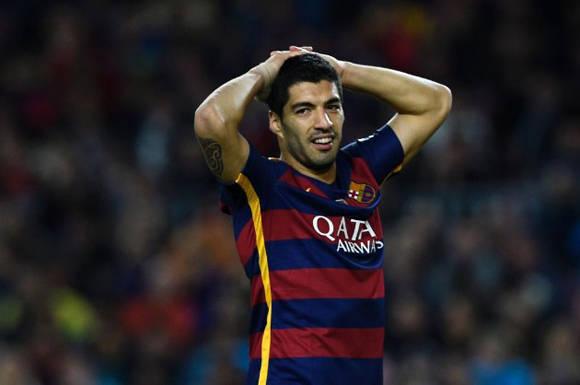 Luis Suárez es el primer jugador de la historia de La Liga que marca un póker en jornadas consecutivas. Foto: AFP.
