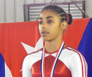 Cubana Videaux a dos finales en Copa Mundial de Gimnasia Artística