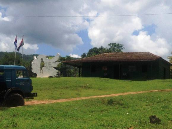 Museo del Frente de Las Villas en las lomas de Sancti Spíritus. Foto :Diana Acuña Riancho / Cubadebate