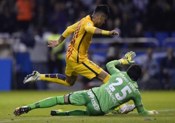 Neymar hizo el gol 8 del dia. Foto: AFP