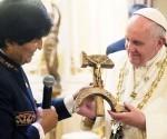 Papa Francisco Y Evo morales1