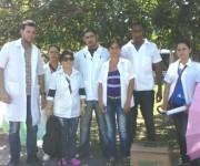 Parte de la Brigada Médica Cubana en Río Negro, Amazonas. Foto: Cortesía del autor