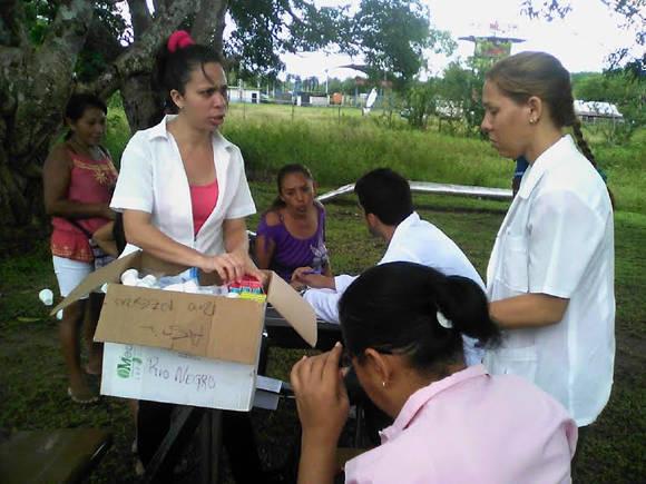 Trabajo Comunitario Integrado en Río Negro, Amazonas. Foto: Cortesía del autor