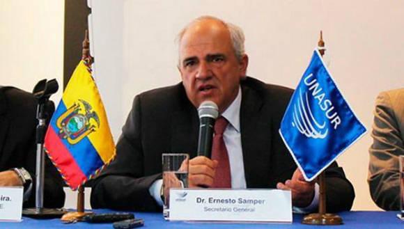 La Comisión para la verdad cuenta con el acompañamiento y la garantía de la Unión de Naciones Suramericanas (Unasur). Foto: Archivo