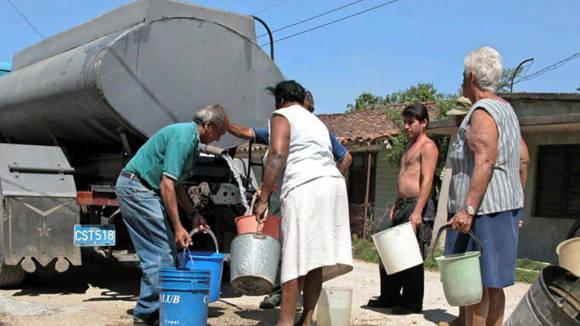 La sequía afecta a más de un millón de cubanos.  Foto tomada de Radio Ciudad de La Habana.