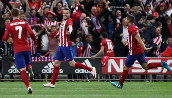 Atlético de Madrid derrotó 1-0 al Bayern Munich en España por las semifinales de la Champions League. (AFP)
