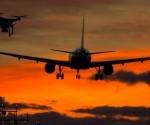 """""""Es un hecho """"totalmente inaceptable"""" hacer volar un drone cerca de los aeropuertos"""", dijo un vocero de la autoridad civil."""