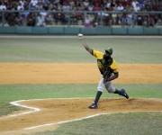Baños trabajó cinco entradas y ganó su juego, Foto: Alejandro Rosales / Periódico Guerrillero