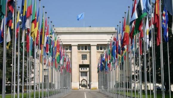 Sede de la ONU en Ginebra. Foto: Archivo