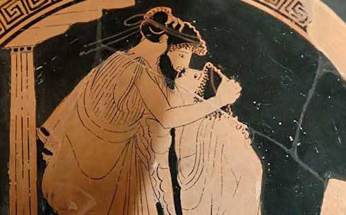 Según la filematología, las antiguas civilizaciones persas y griegas practicaban el beso romántico.