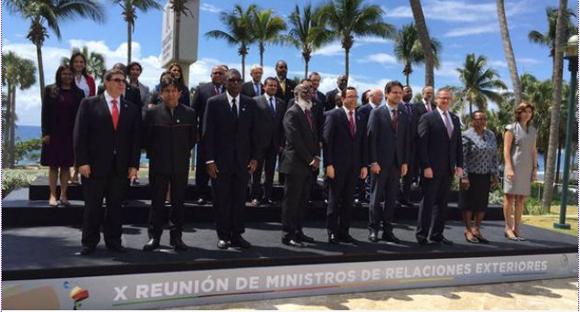 """La Celac rechazó la prórroga del decreto emitido por el presidente de Estados Unidos, Barack Obama, que declara a Venezuela una """"amenaza inusual y extraordinaria"""" para la seguridad de la nación norteamericana. Foto: AVN"""
