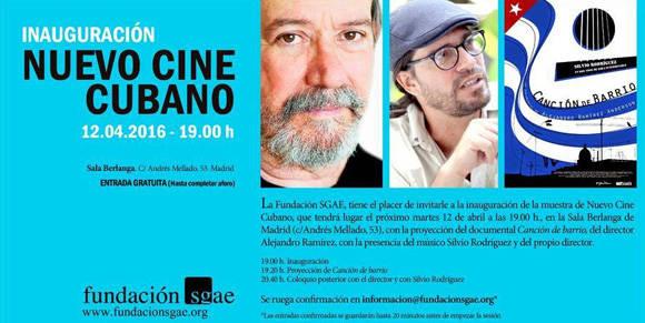 Inaugurado ciclo de cine cubano en Madrid.