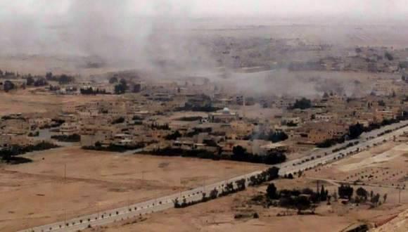 Ejército sirio continúa su exitosa ofensiva contra el Estado Islámico. Foto: EFE.
