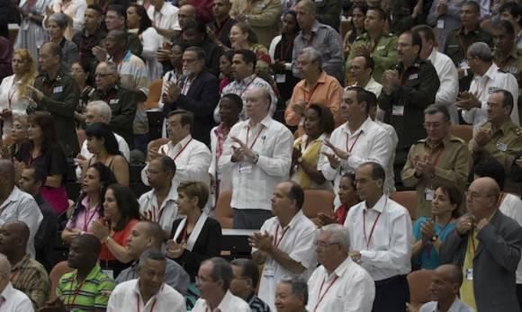 Clausura del Congreso del Partido Comunista de Cuba. Foto: Ismael Francisco/ Cubadebate