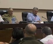 Delegados debaten en VII Congreso del PCC. Foto: Ismael Francisco/ Cubadebate.