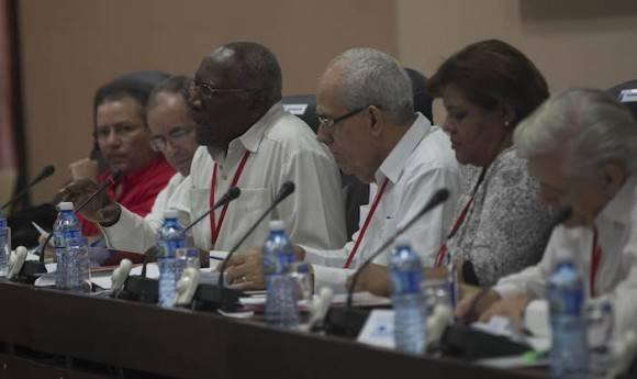 Comision 4 El trabajo del Partido en el cumplimiento de los objetivos aprobados en la Primera Conferencia Nacional y de las Directrices del Primer Secretario del Comite Central. Foto: Ismael Francisco/ Cubadebate